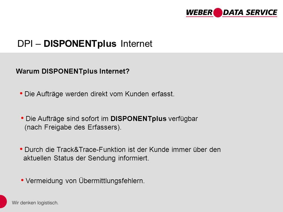 Warum DISPONENTplus Internet