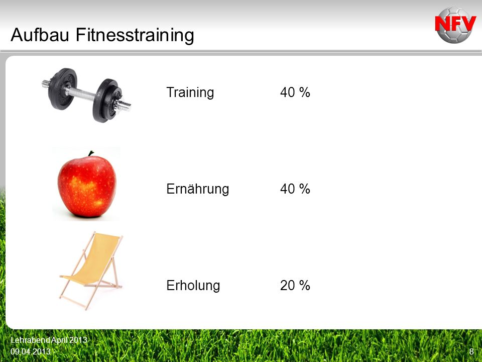 Aufbau Fitnesstraining