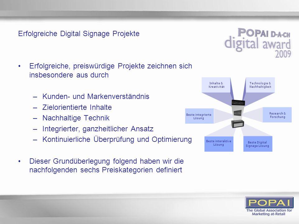 Erfolgreiche Digital Signage Projekte