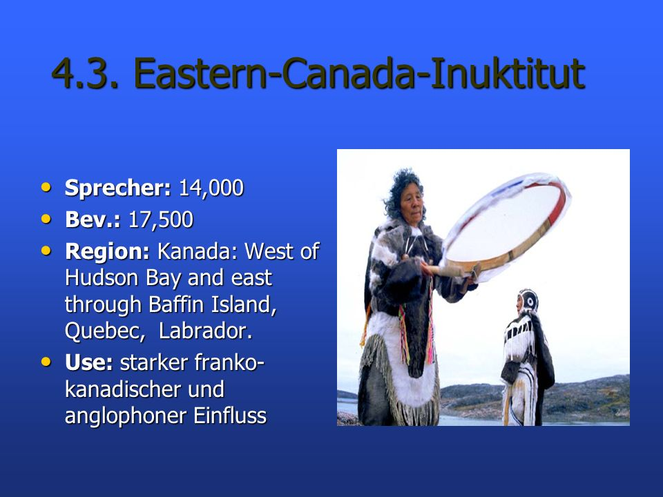 4.3. Eastern-Canada-Inuktitut