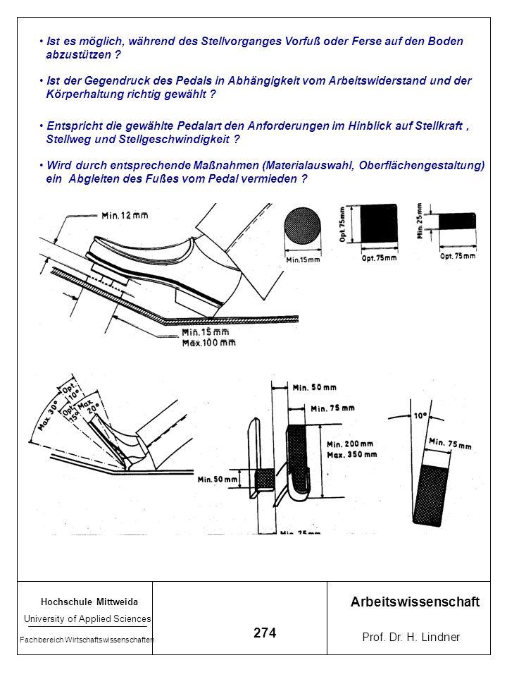 Ist es möglich, während des Stellvorganges Vorfuß oder Ferse auf den Boden