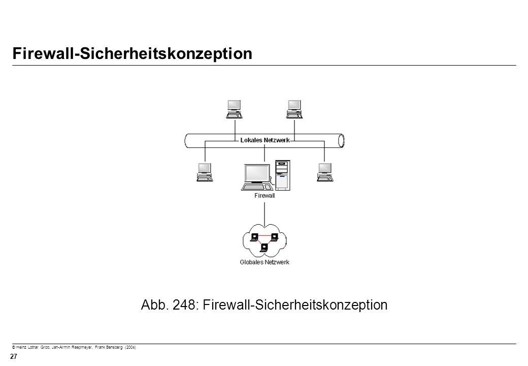 Firewall-Sicherheitskonzeption