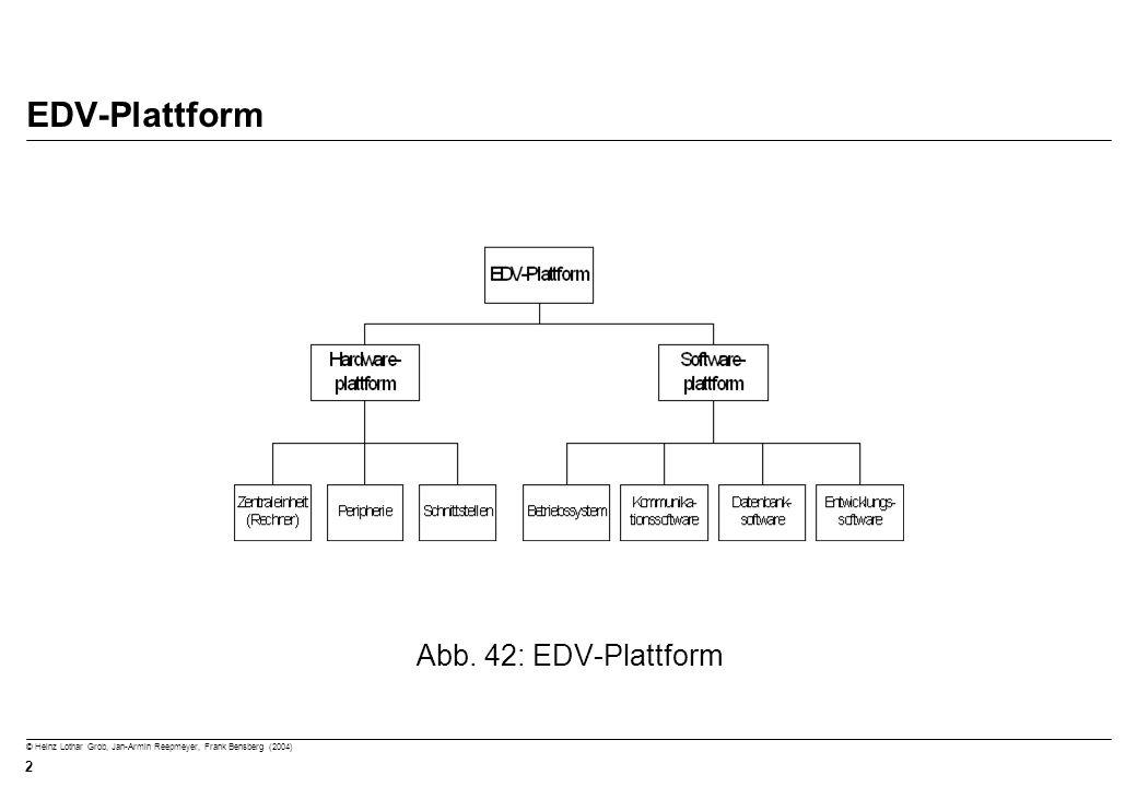 EDV-Plattform Abb. 42: EDV-Plattform