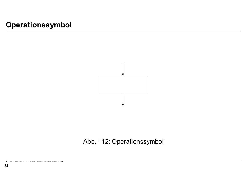 Abb. 112: Operationssymbol