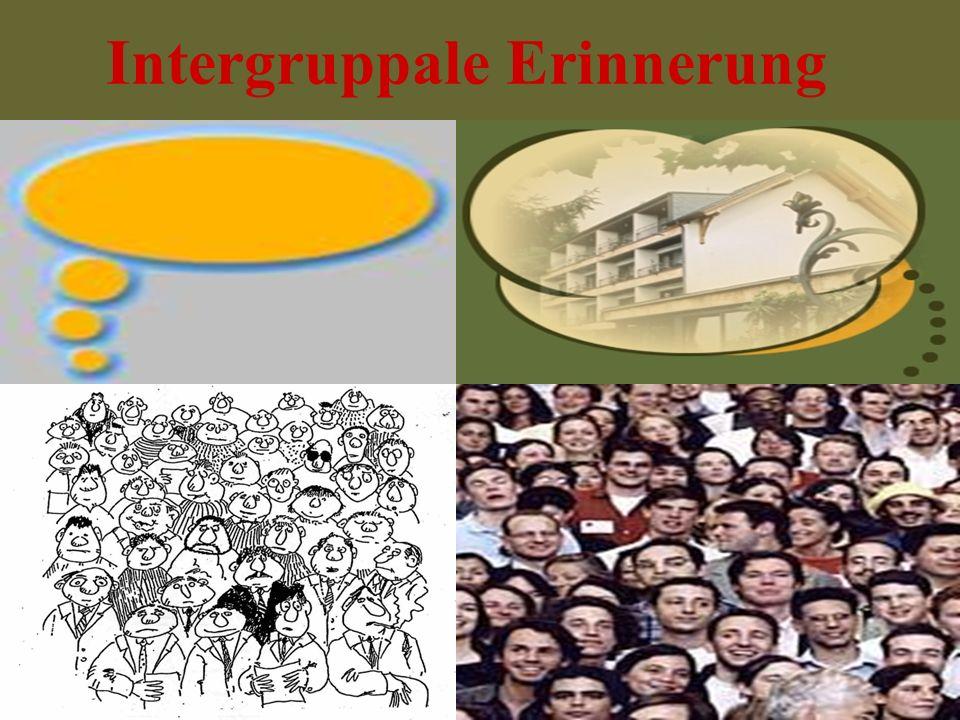 Intergruppale Erinnerung