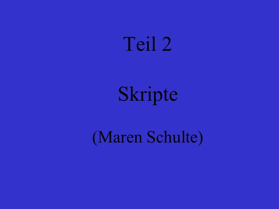 Teil 2 Skripte (Maren Schulte)