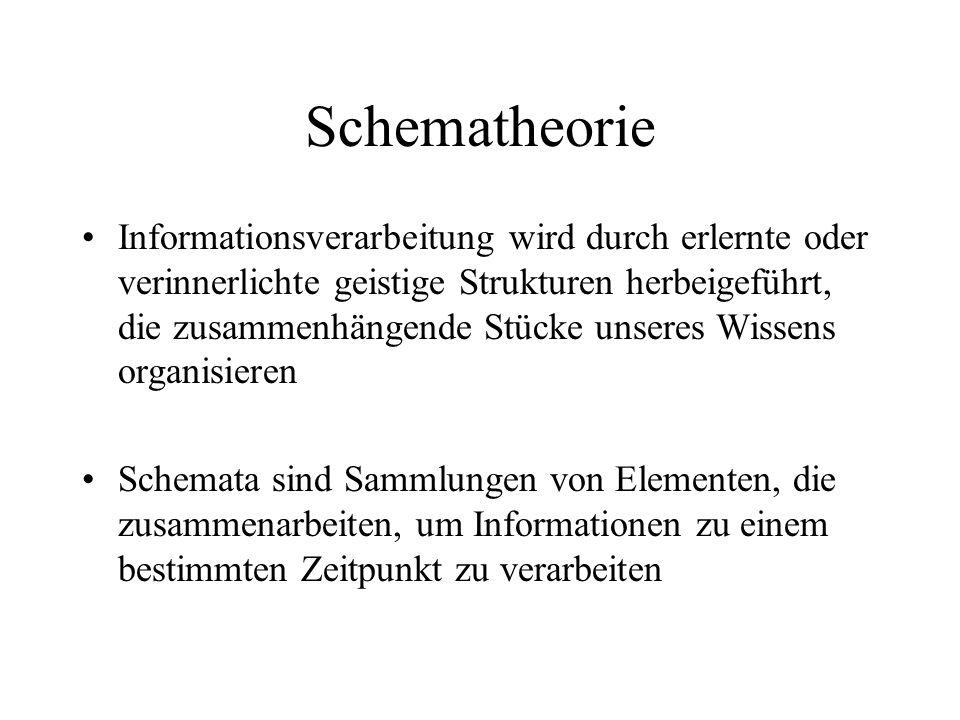Schematheorie
