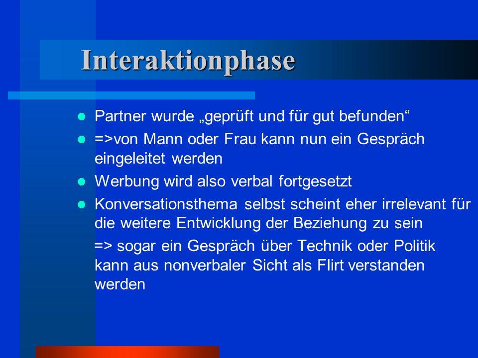 """Interaktionphase Partner wurde """"geprüft und für gut befunden"""