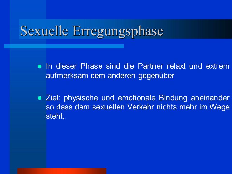 Sexuelle Erregungsphase