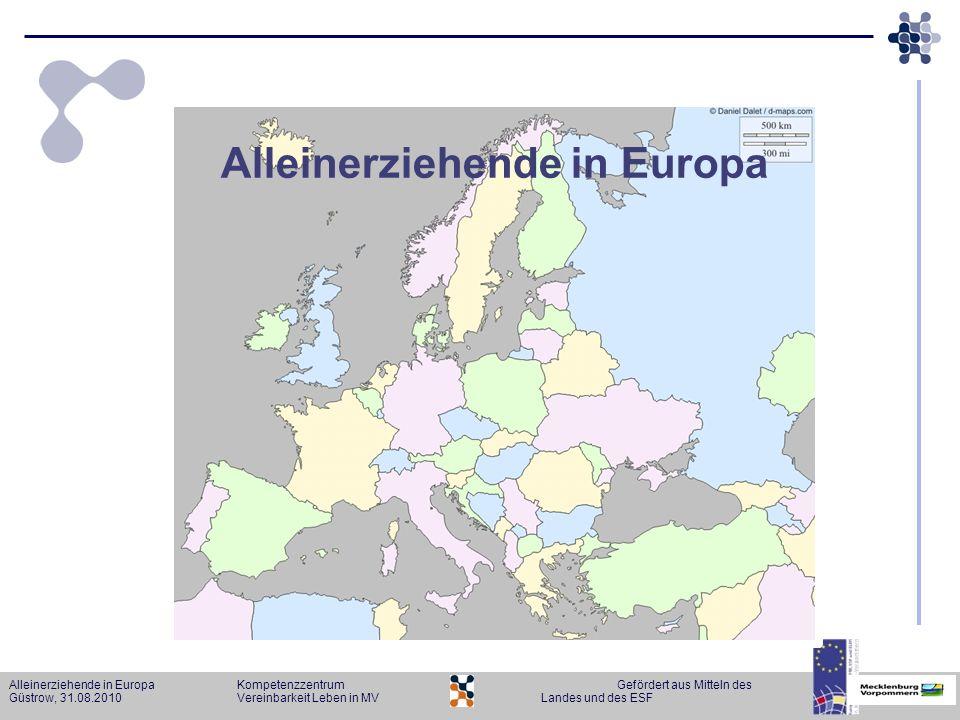 Alleinerziehende in Europa