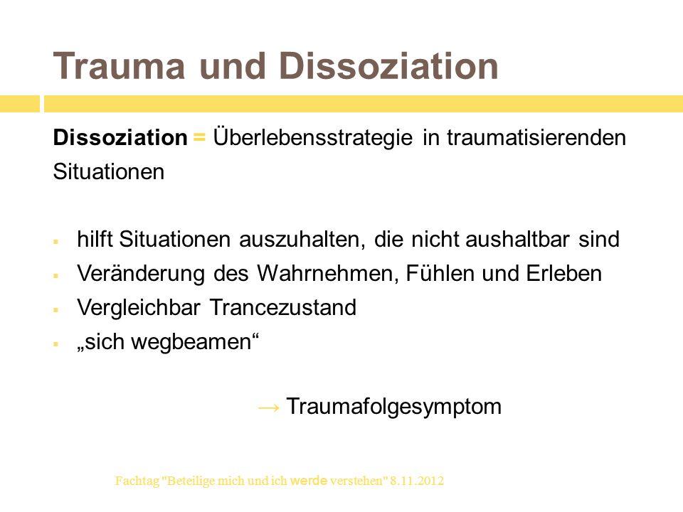 Trauma und Dissoziation
