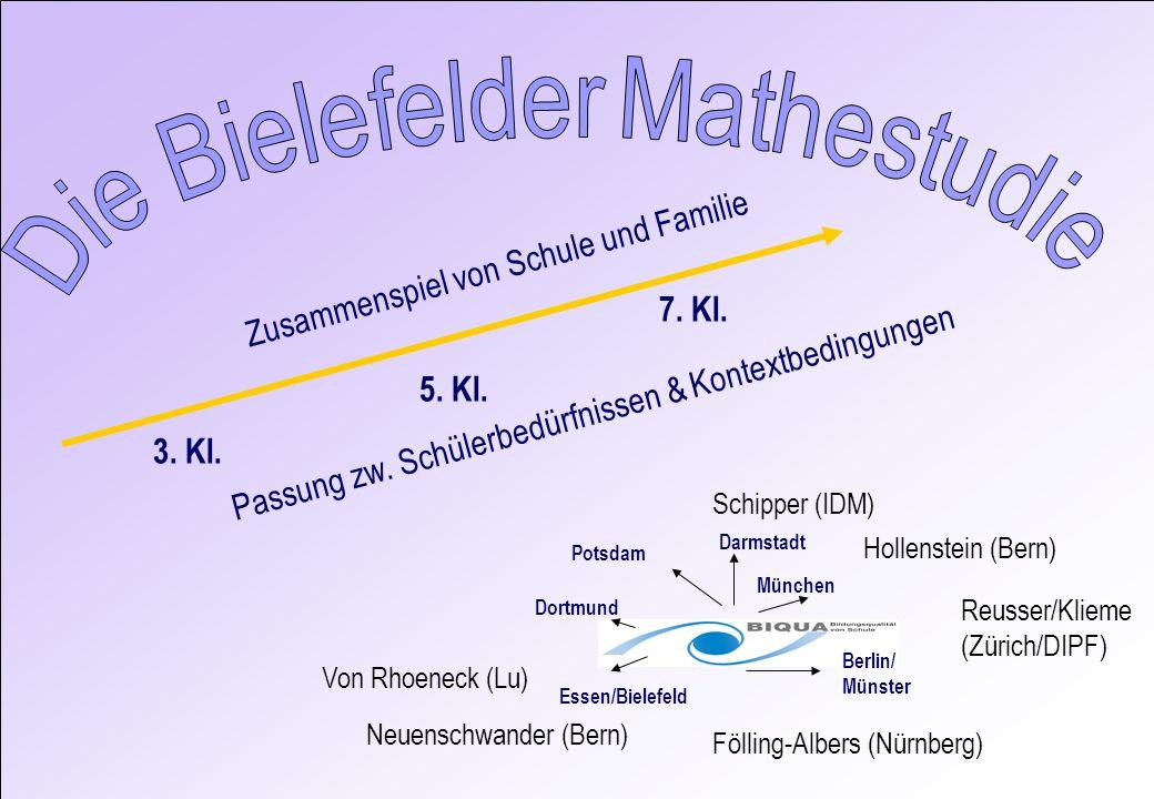 Die Bielefelder Mathestudie