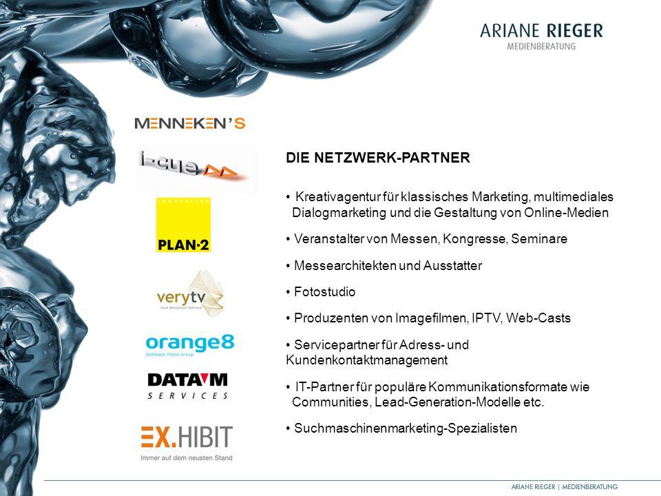 DIE NETZWERK-PARTNERKreativagentur für klassisches Marketing, multimediales Dialogmarketing und die Gestaltung von Online-Medien.