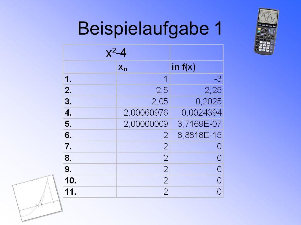 Beispielaufgabe 1