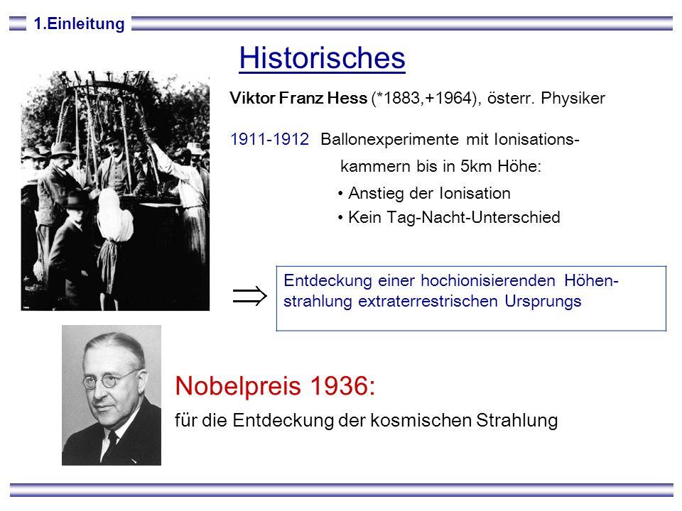 Historisches Nobelpreis 1936:
