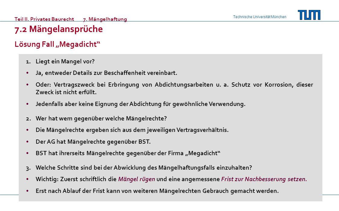 "Lösung Fall ""Megadicht"