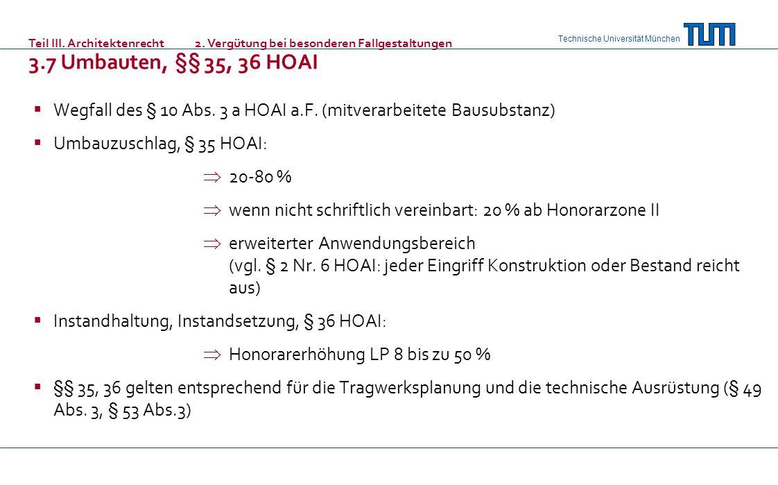 Teil III. Architektenrecht. 2