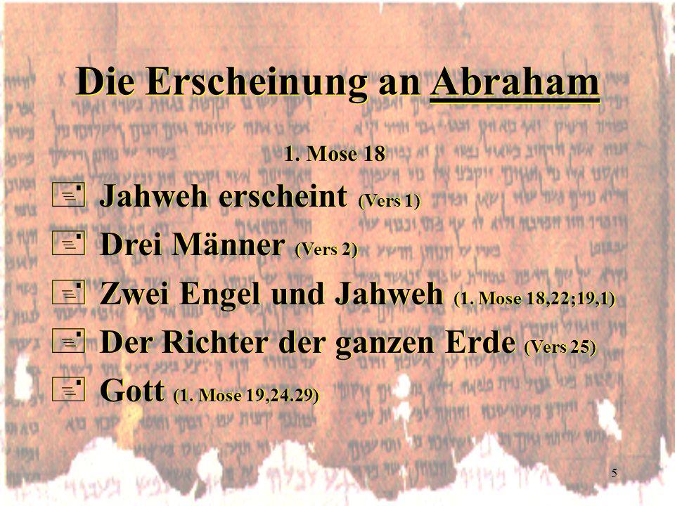 Die Erscheinung an Abraham