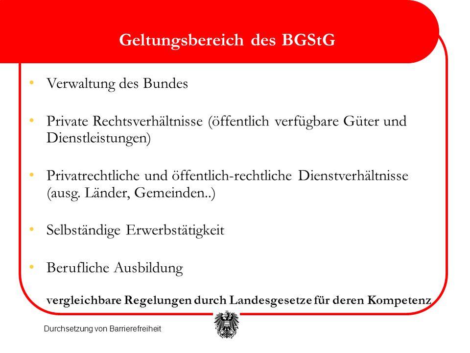 Geltungsbereich des BGStG