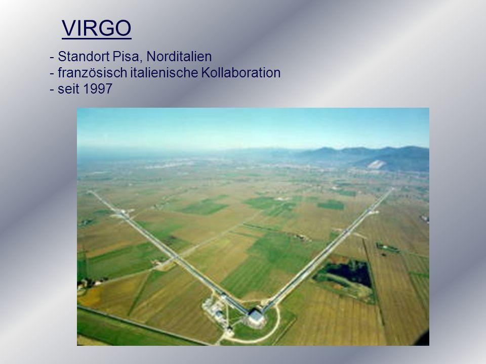 VIRGO Standort Pisa, Norditalien
