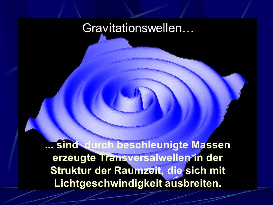 Gravitationswellen…