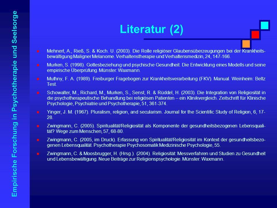 Literatur (2)