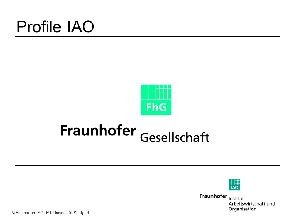 Profile IAO