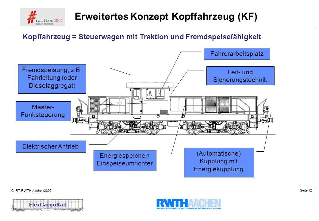 Erweitertes Konzept Kopffahrzeug (KF)