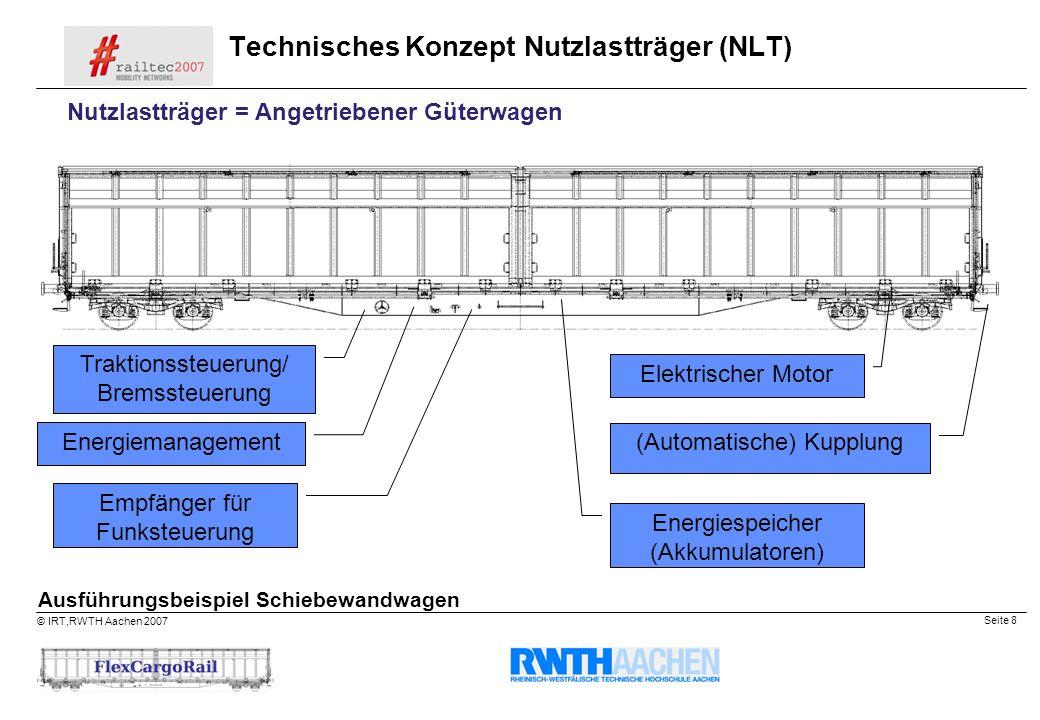 Technisches Konzept Nutzlastträger (NLT)