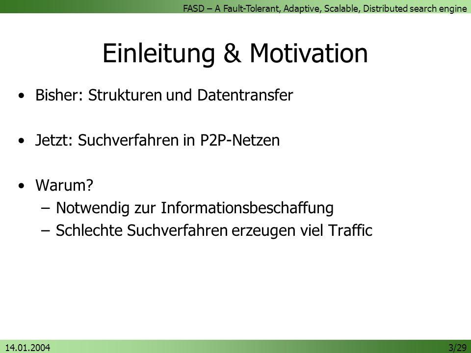 Einleitung & Motivation