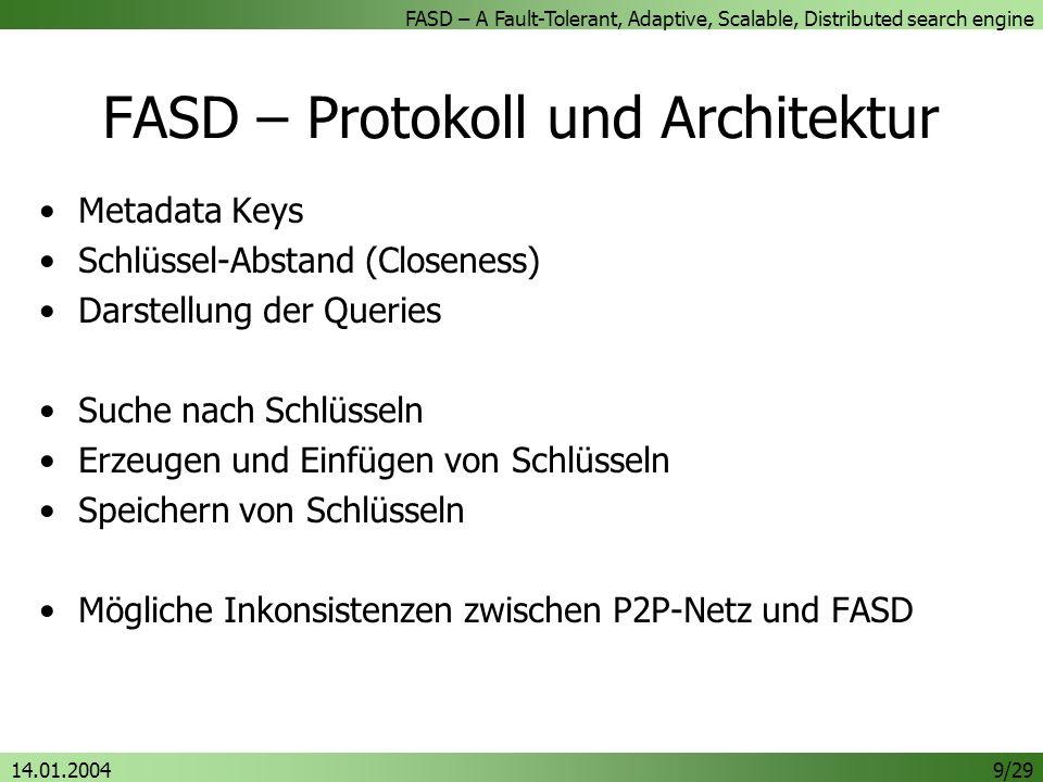 FASD – Protokoll und Architektur
