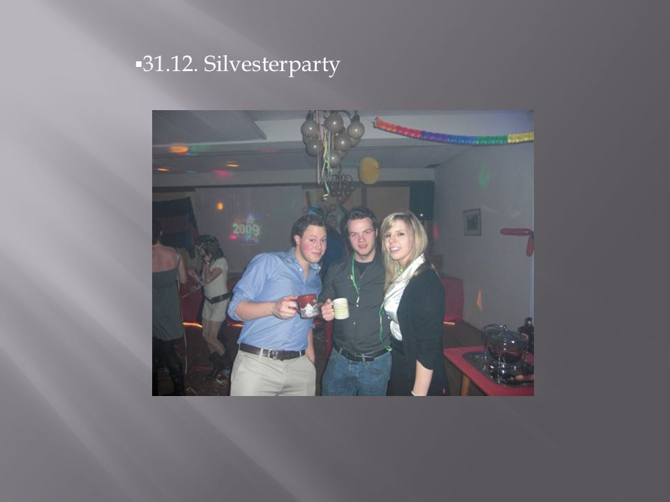 31.12. Silvesterparty