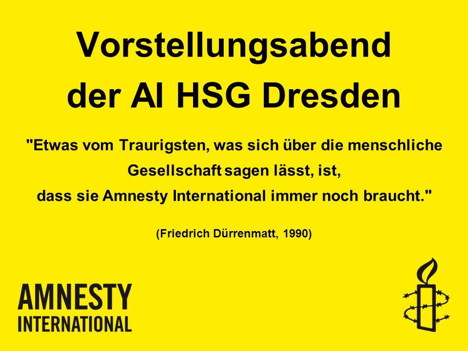 Vorstellungsabend der AI HSG Dresden