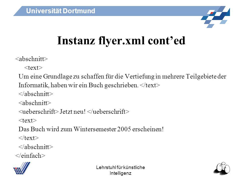 Instanz flyer.xml cont'ed