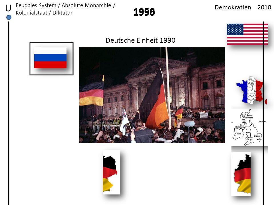 U 1958 1990 Deutsche Einheit 1990 Demokratien 2010