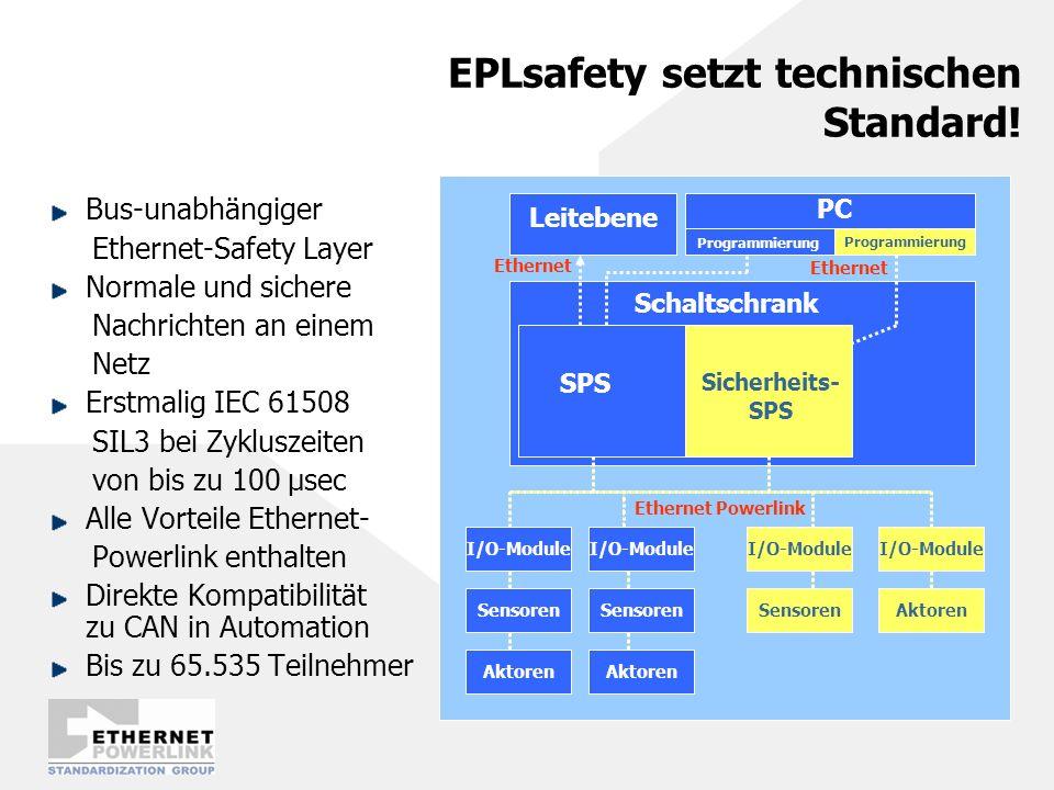 EPLsafety setzt technischen Standard!