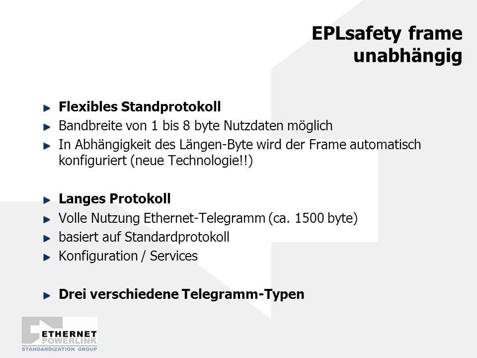 EPLsafety frame unabhängig