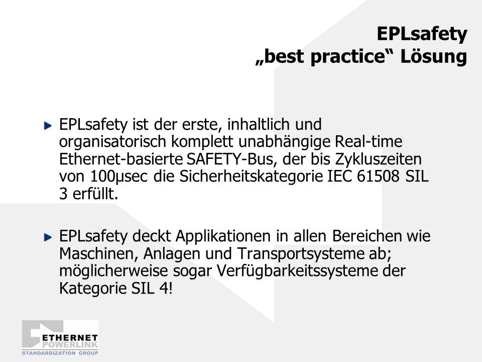 """EPLsafety """"best practice Lösung"""
