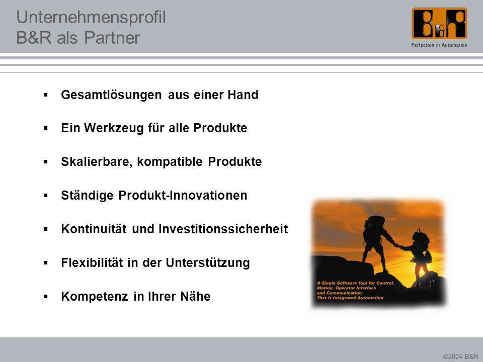 Unternehmensprofil B&R als Partner