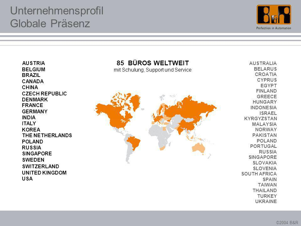 Unternehmensprofil Globale Präsenz