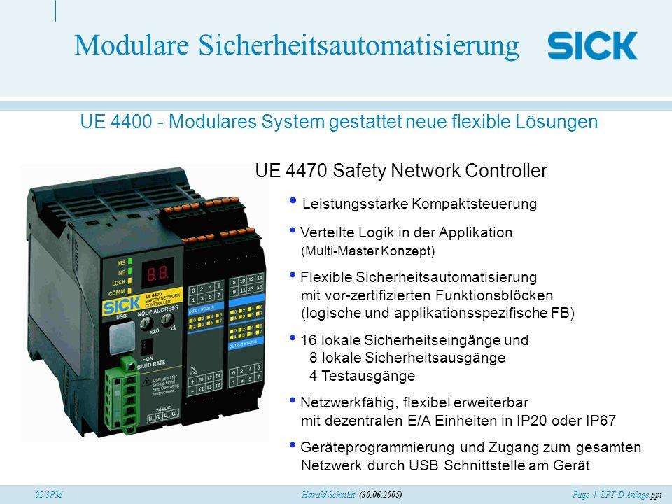 Modulare Sicherheitsautomatisierung