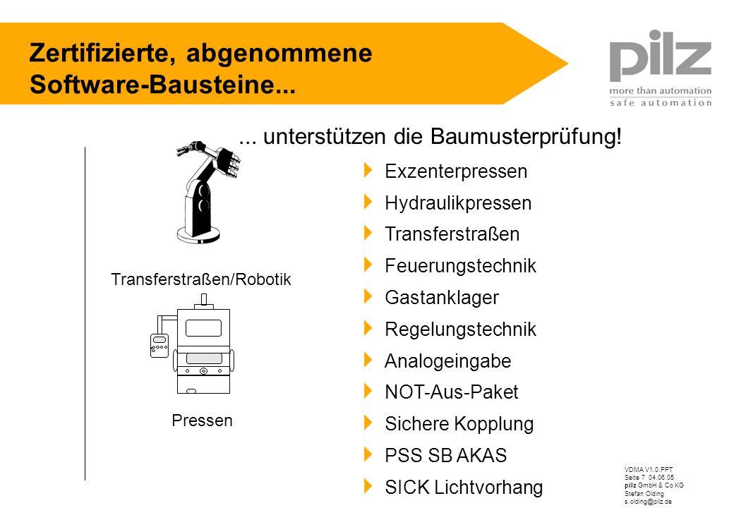 Transferstraßen/Robotik
