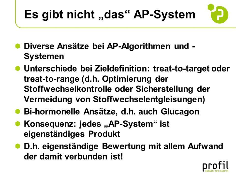 """Es gibt nicht """"das AP-System"""