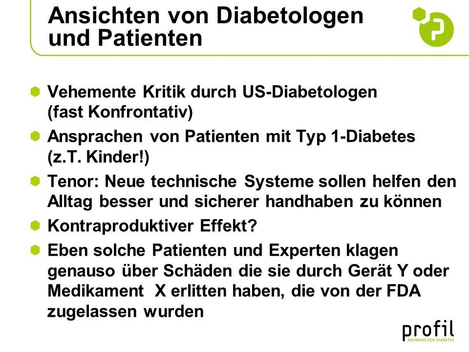 Ansichten von Diabetologen und Patienten