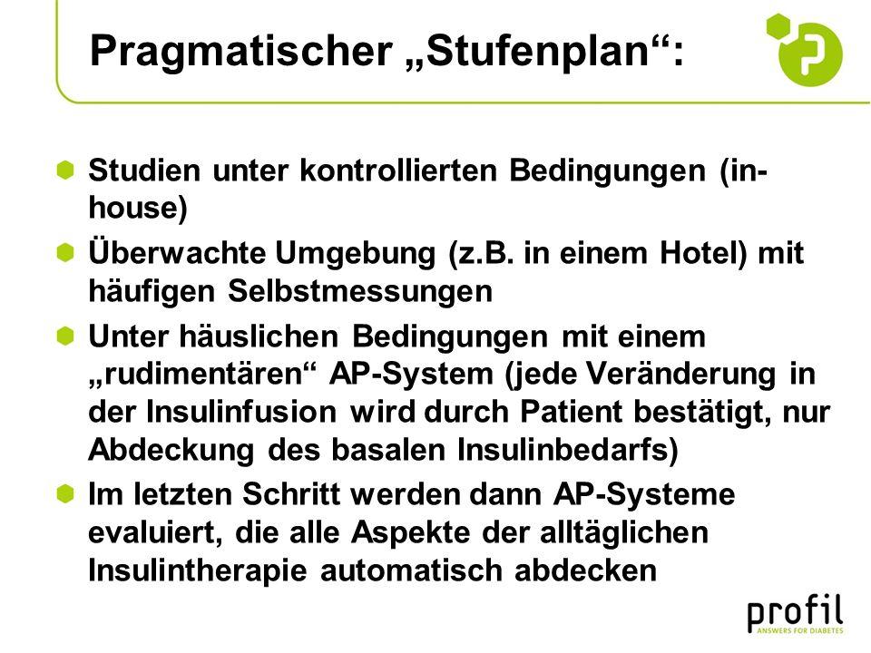 """Pragmatischer """"Stufenplan :"""