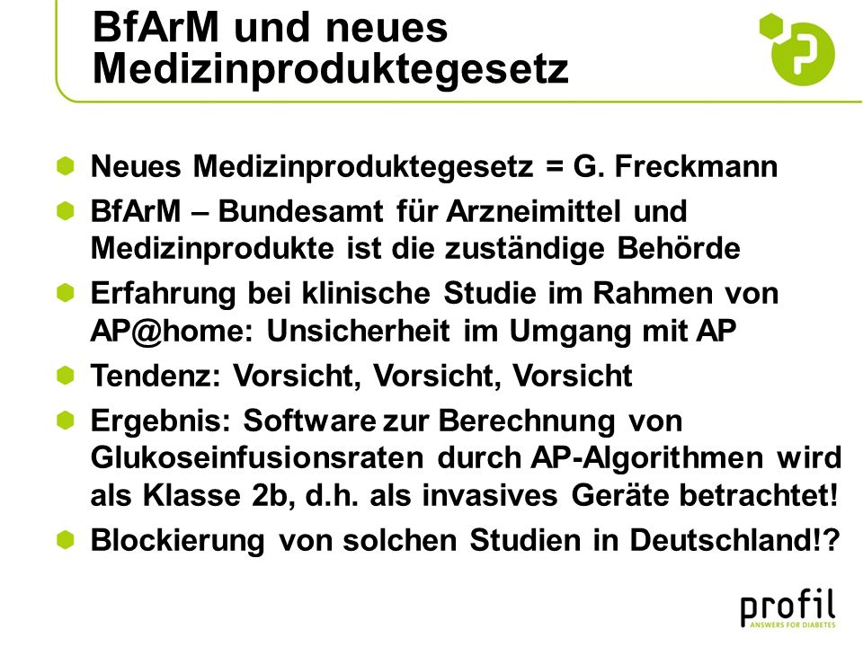 BfArM und neues Medizinproduktegesetz