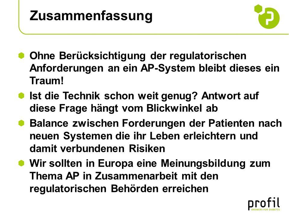 Zusammenfassung Ohne Berücksichtigung der regulatorischen Anforderungen an ein AP-System bleibt dieses ein Traum!