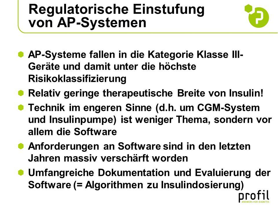 Regulatorische Einstufung von AP-Systemen