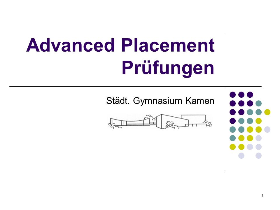 Advanced Placement Prüfungen