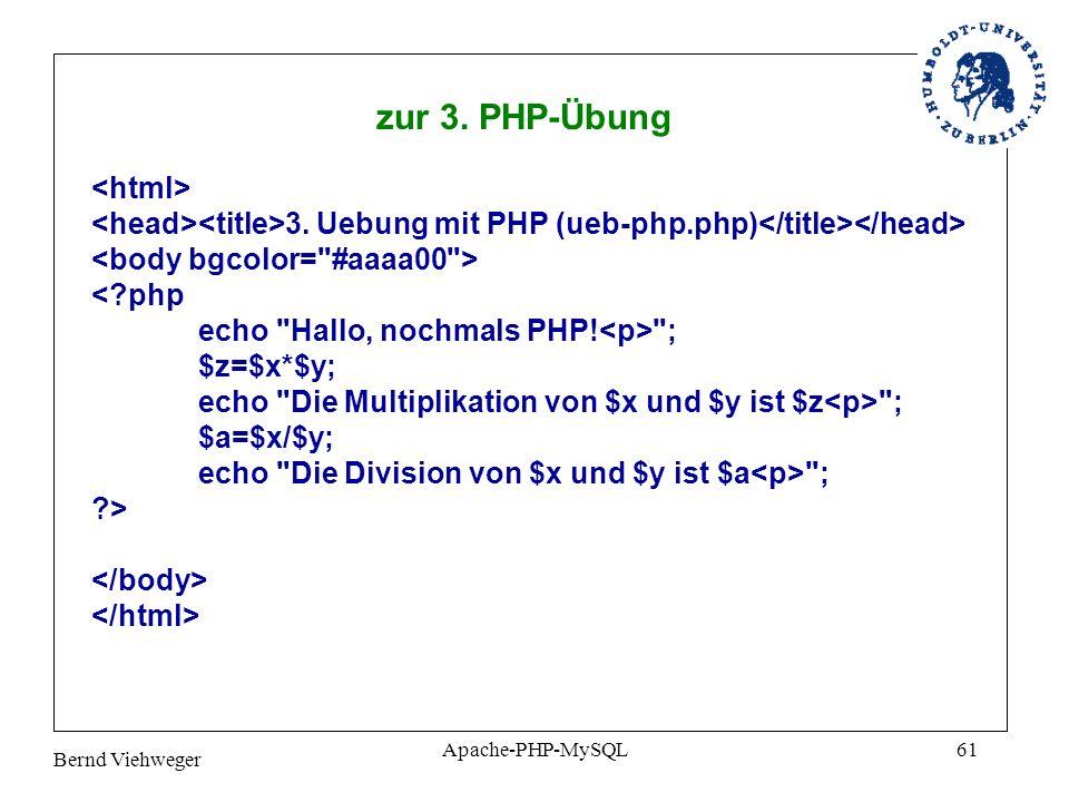 zur 3. PHP-Übung <html>